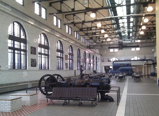 Homan Power House Interior